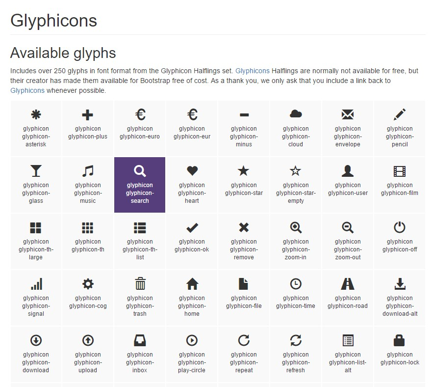 Bootstrap Icons  approved  documents