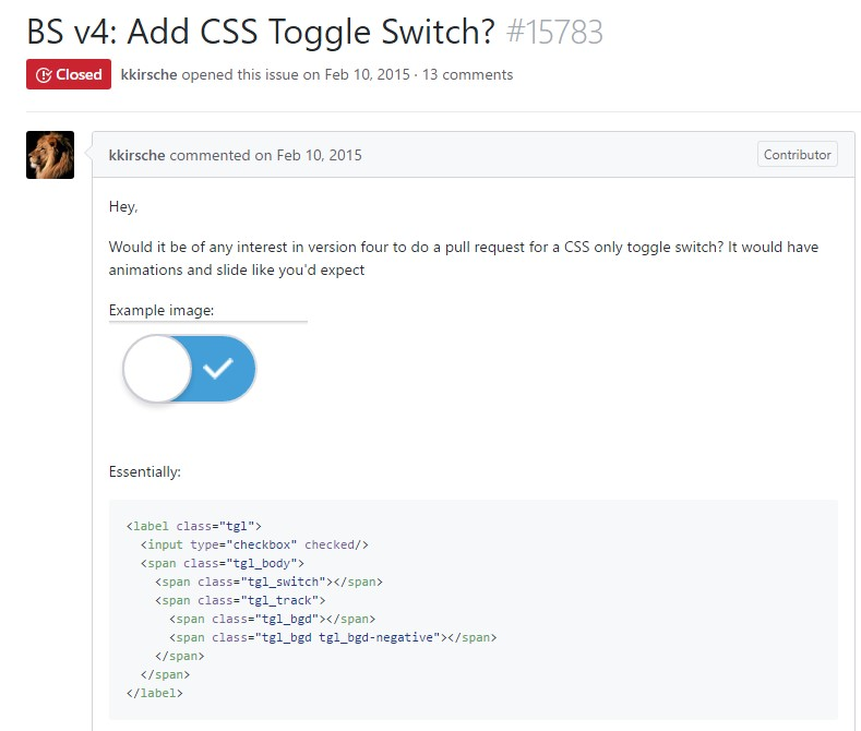 Ways to  put in CSS toggle switch?