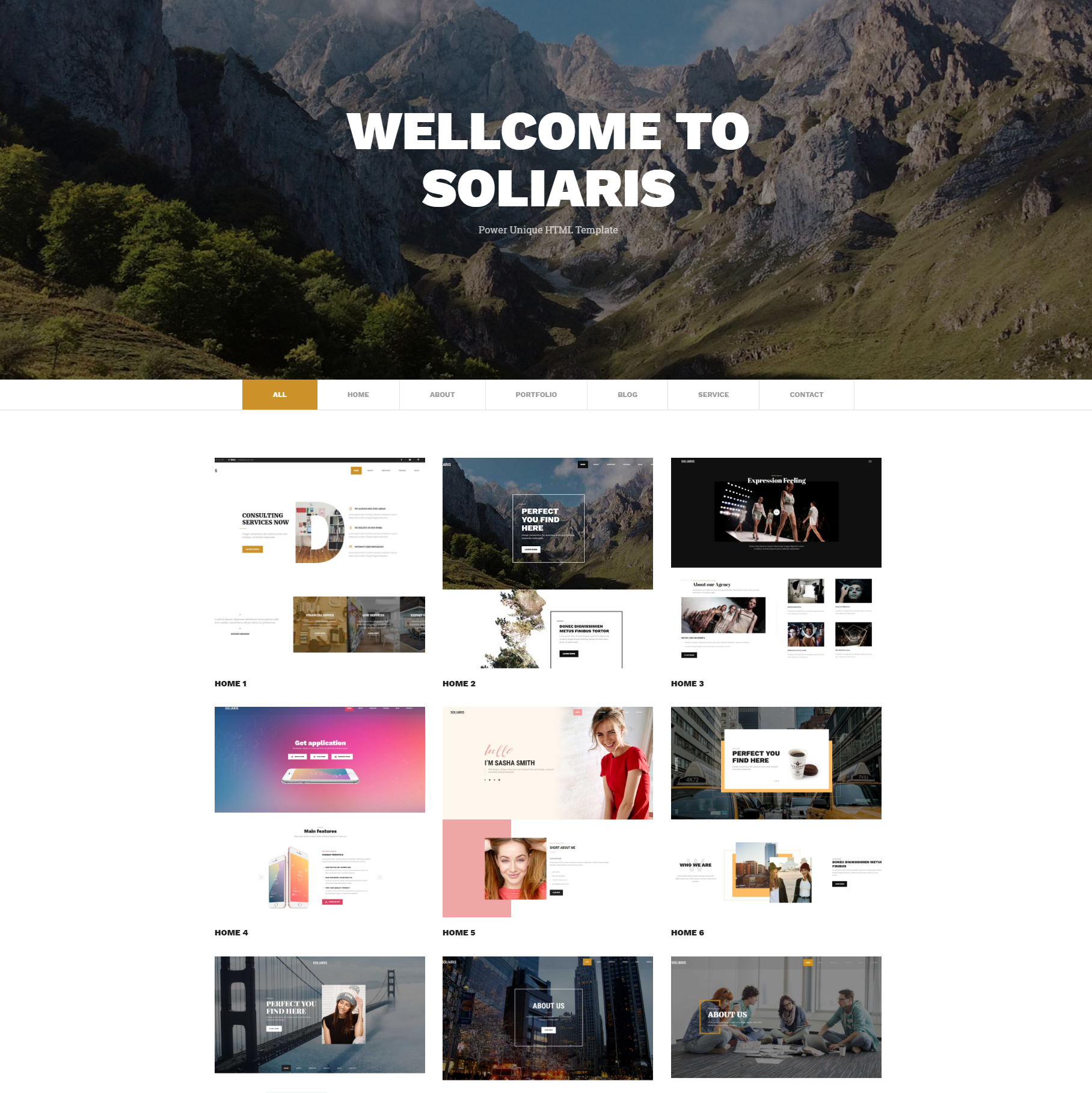 Responsive Bootstrap Soliaris Themes