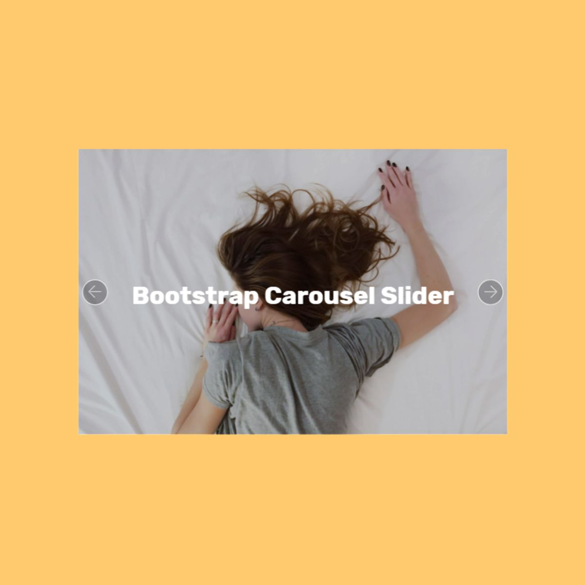 Free Bootstrap Picture Carousel