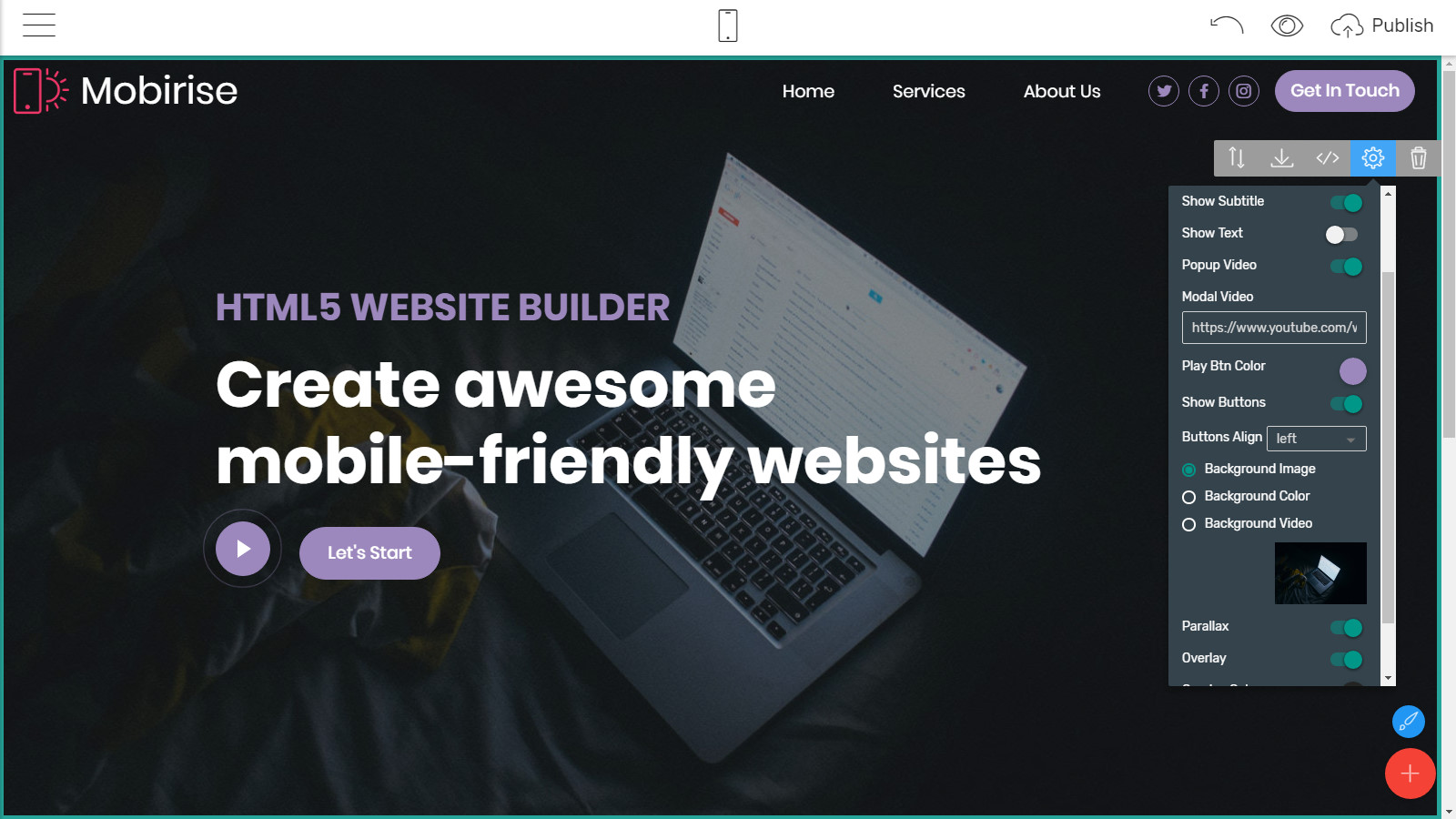 bootstrap webpage layouts