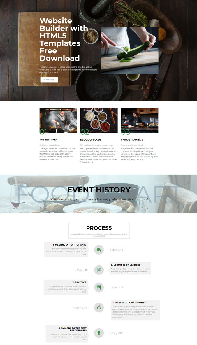 Event Website Templates