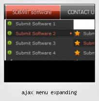 Ajax Menu Expanding