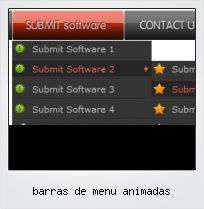 Barras De Menu Animadas