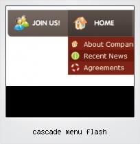 Cascade Menu Flash