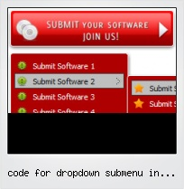 Code For Dropdown Submenu In Javascript