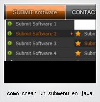 Como Crear Un Submenu En Java