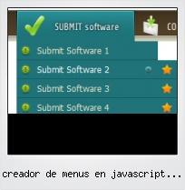 Creador De Menus En Javascript Gratis
