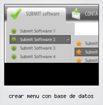 Crear Menu Con Base De Datos