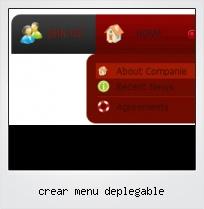 Crear Menu Deplegable