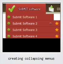 Creating Collapsing Menus