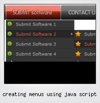 Creating Menus Using Java Script