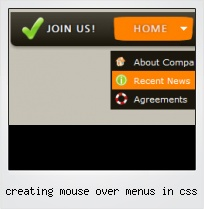 Creating Mouse Over Menus In Css