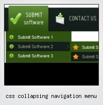 Css Collapsing Navigation Menu