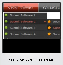 Css Drop Down Tree Menus