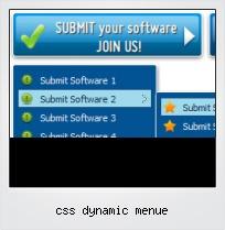 Css Dynamic Menue