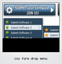 Css Form Drop Menu