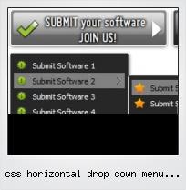 Css Horizontal Drop Down Menu Free Download