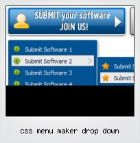 Css Menu Maker Drop Down