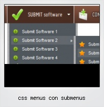 Css Menus Con Submenus