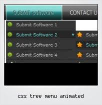 Css Tree Menu Animated