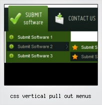 Css Vertical Pull Out Menus