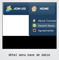 Dhtml Menu Base De Datos