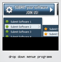 Drop Down Menue Programm