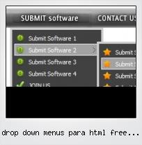 Drop Down Menus Para Html Free Code