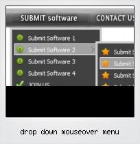 Drop Down Mouseover Menu