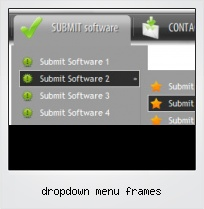 Dropdown Menu Frames