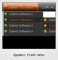 Dynamic Flash Menu