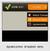 Dynamisches Dropdown Menu