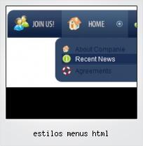 Estilos Menus Html