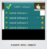 Expand Menu Sample