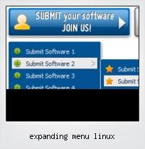Expanding Menu Linux