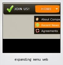 Expanding Menu Web