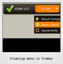 Floating Menu In Frames