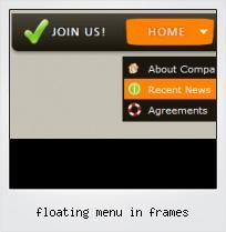 Floating Menu In Frames