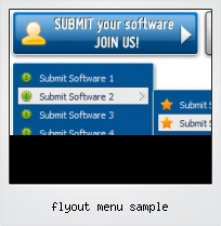 Flyout Menu Sample