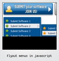 Flyout Menus In Javascript