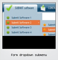 Form Dropdown Submenu
