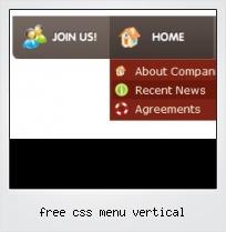 Free Css Menu Vertical