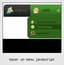 Hacer Un Menu Javascript