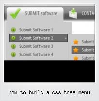 How To Build A Css Tree Menu