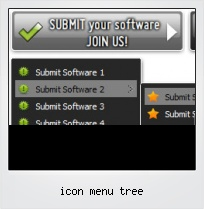 Icon Menu Tree