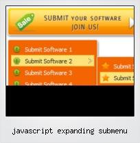 Javascript Expanding Submenu