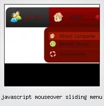 Javascript Mouseover Sliding Menu