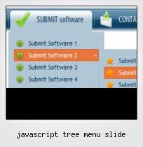 Javascript Tree Menu Slide