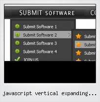 Javascript Vertical Expanding Menus